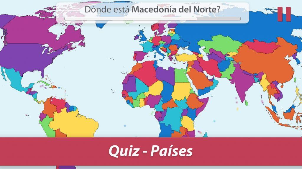 StudyGe-geografía en el mapa