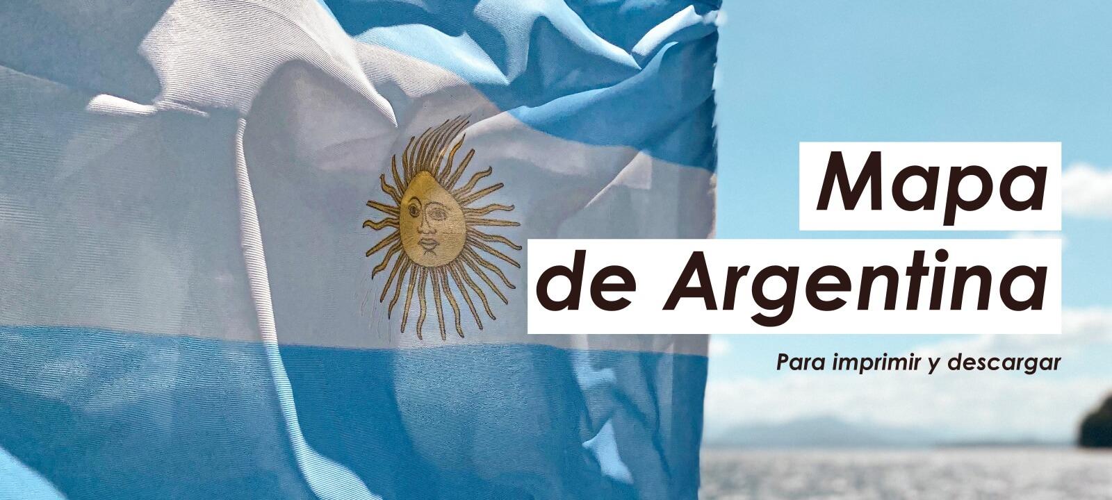 mapa de argentina para imprimir