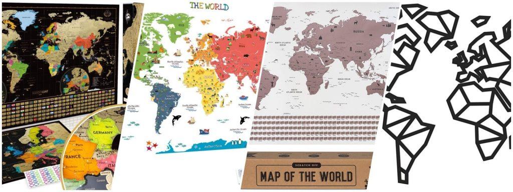 mapamundi para regalar